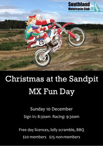 Christmas at the Sandpit - MX Fun Day