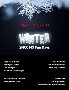 Winter SMCC MX Fun Days