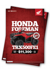 Honda TRX500FE Special Offer!