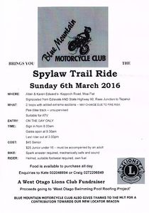 Spylaw Trail Ride