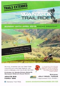 Wanaka Trail Ride - Anzac Weekend
