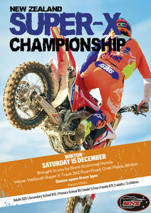 NZ Super-X Winton 15th December