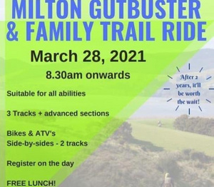 2021 Milton Gutbuster Trail Ride