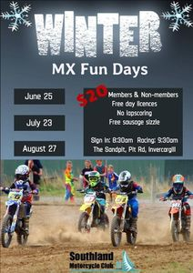 Winter MX Fun Days - Southland Motorcycle Club
